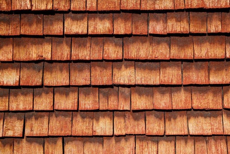 traditionellt tr?hus i Skandinavien med dess r?da kul?ra plankor royaltyfria foton