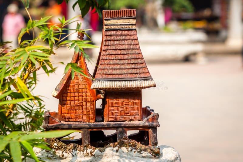 Traditionshus av Vietnam arkivfoto