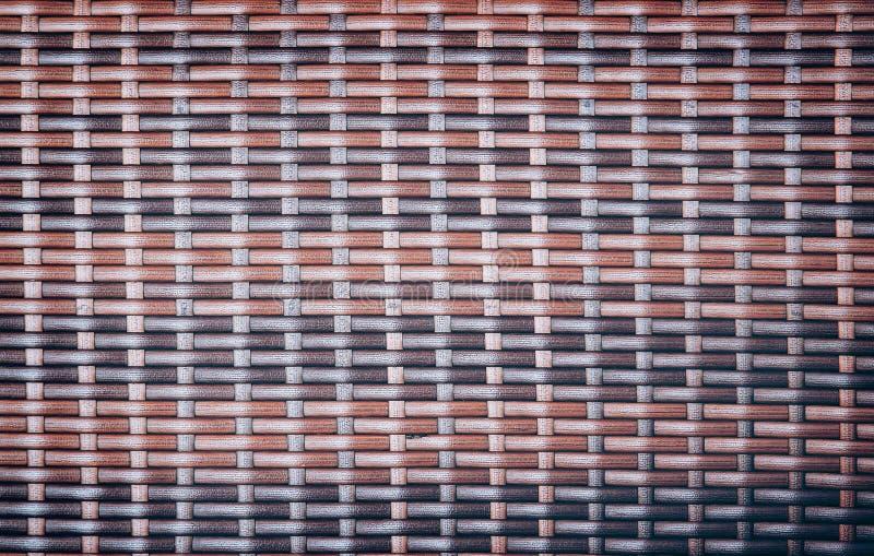 Tradizionale handcraft la superficie tailandese del vimine di struttura del fondo della natura del modello di stile del tessuto p fotografie stock libere da diritti