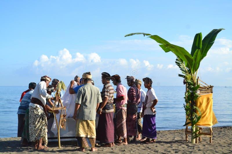 Tradizione di balinese fotografie stock libere da diritti