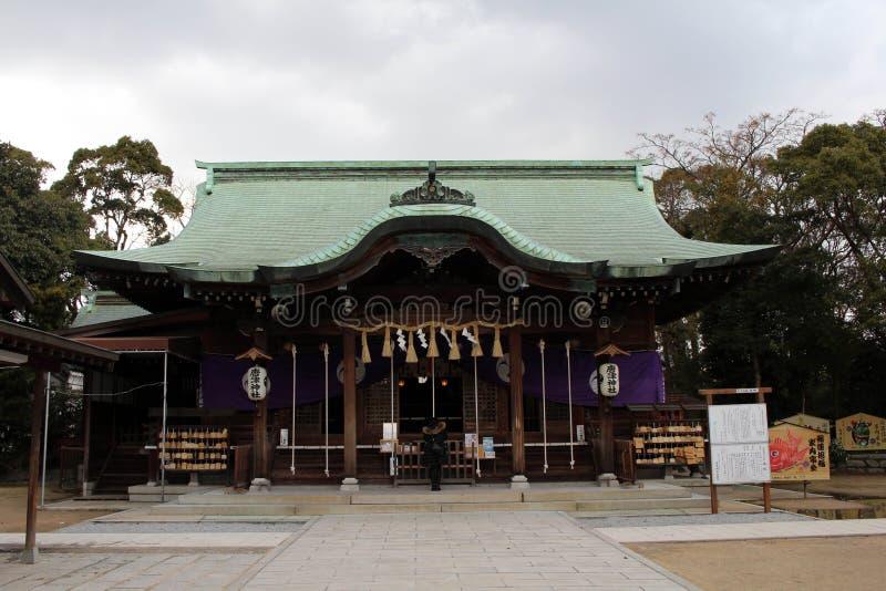 Tradução: ` do santuário de Karatsu do ` A situação ao redor imagem de stock