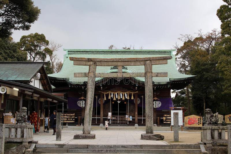 Tradução: ` do santuário de Karatsu do ` A situação ao redor fotos de stock