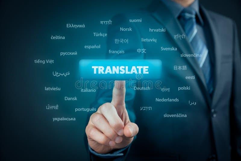 Traducteur en ligne photos libres de droits
