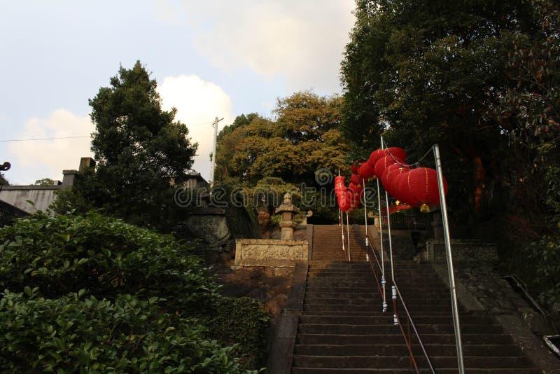 Traduction : ` De temple de Sofukuji de `, une incorporation de culture chinoise images libres de droits