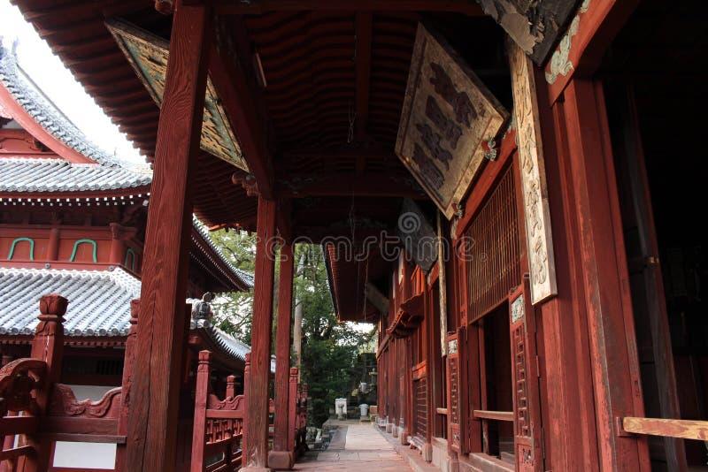 Traduction : ` De temple de Sofukuji de `, une incorporation de culture chinoise photo libre de droits