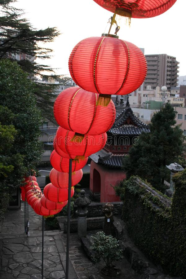 Traduzione: ` Del tempio di Sofukuji del `, un'incorporazione di cultura cinese fotografie stock