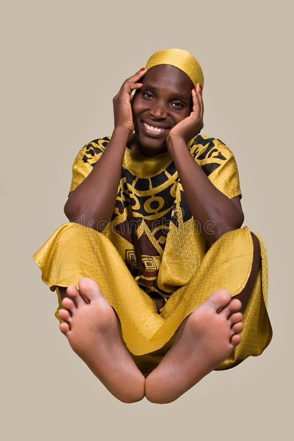 tradycyjna afrykańskiego mody fotografia royalty free