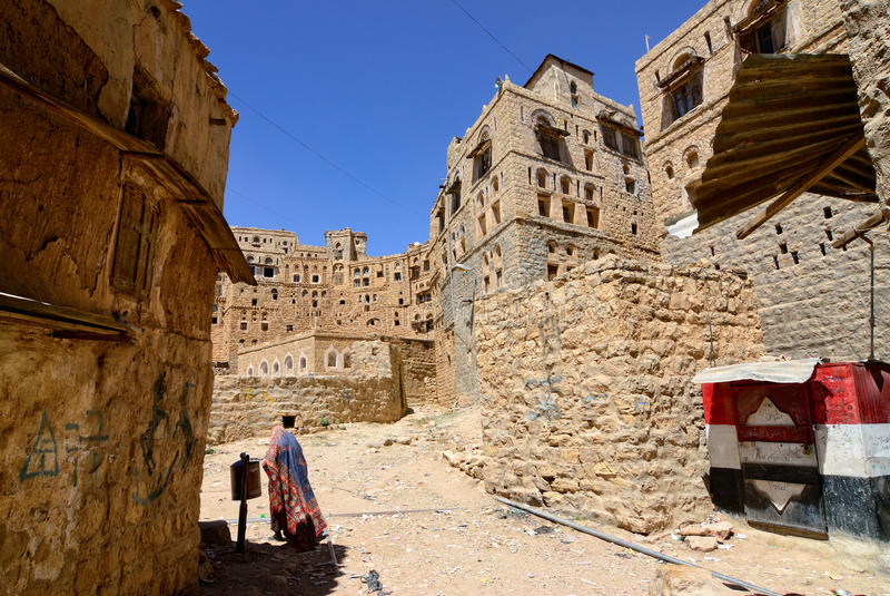 Habbabah, Jemen zdjęcia stock
