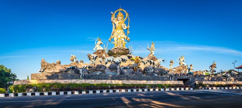 Tradycyjna balijczyka kamienia rzeźby sztuka i kultura przy Bali, Indonezja obraz royalty free