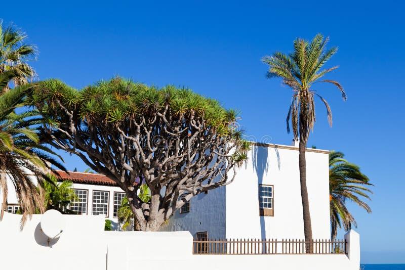 Tradycyjna Canarian architektura zdjęcia stock