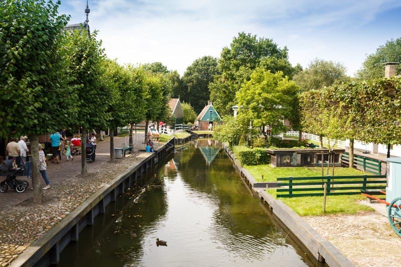 Tradycyjna holenderska wioska zdjęcie royalty free