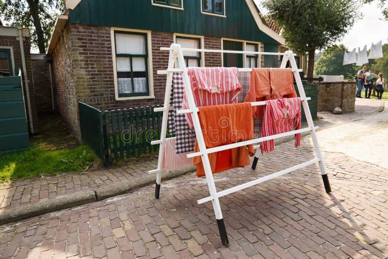 Tradycyjna holenderska wioska fotografia stock