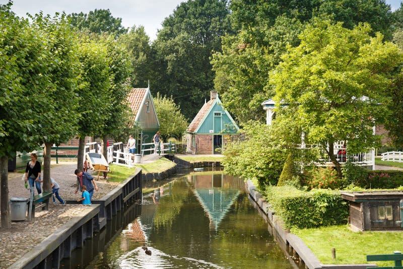 Tradycyjna holenderska wioska zdjęcia royalty free