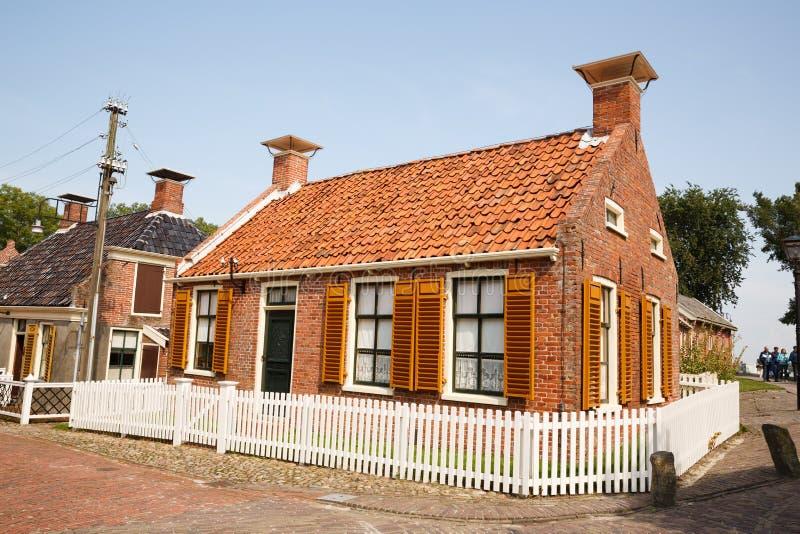 Tradycyjna holenderska wioska zdjęcie stock