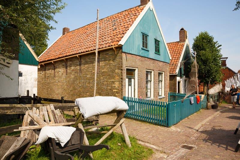 Tradycyjna holenderska wioska obraz stock