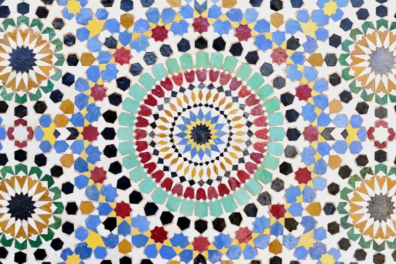 tradycyjna islamska mozaika zdjęcie stock