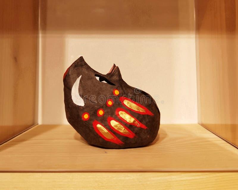 Tradycyjna japończyk zabawki dzikiego knura świnia zdjęcia stock