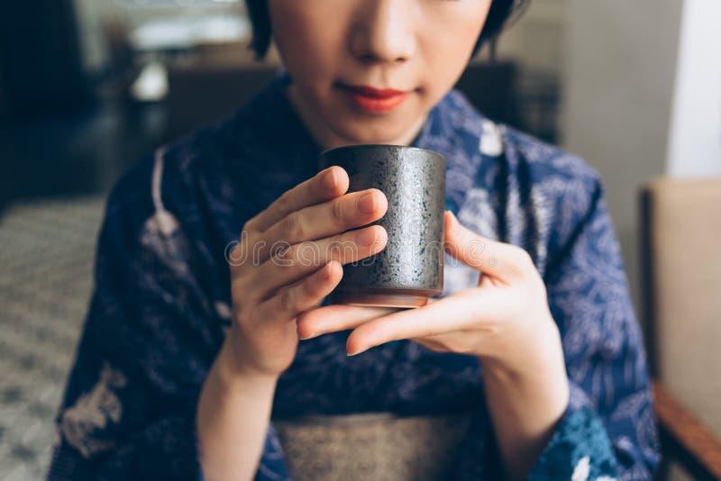 Tradycyjna Japońska herbata fotografia stock