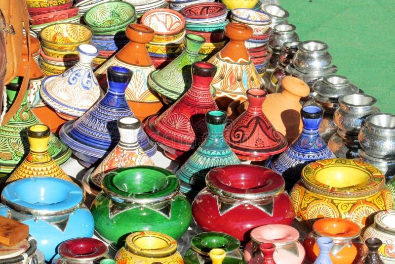 Tradycyjna marokańska pamiątka zdjęcia royalty free