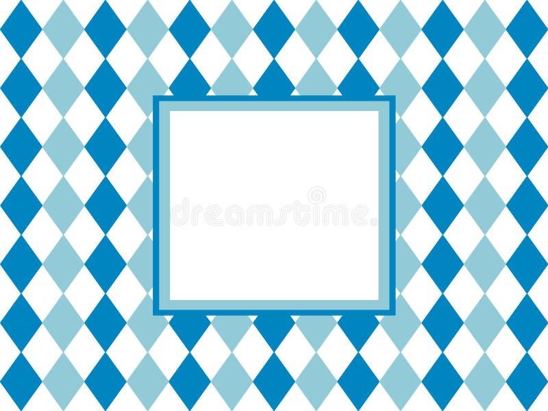 Tradycyjna rama z kopii przestrzenią dla Oktoberfest royalty ilustracja