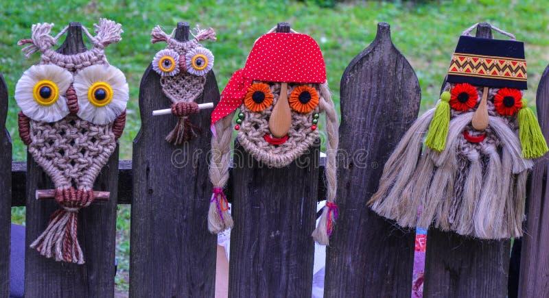 Tradycyjna Rumuńska maska zdjęcie stock