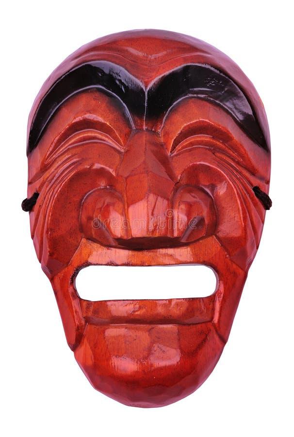 tradycyjna samiec koreańska maska obraz royalty free