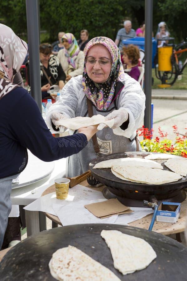 Tradycyjna Turecka kuchnia obraz royalty free