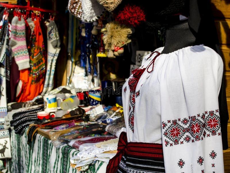 Tradycyjna ukraińska koszula fotografia royalty free