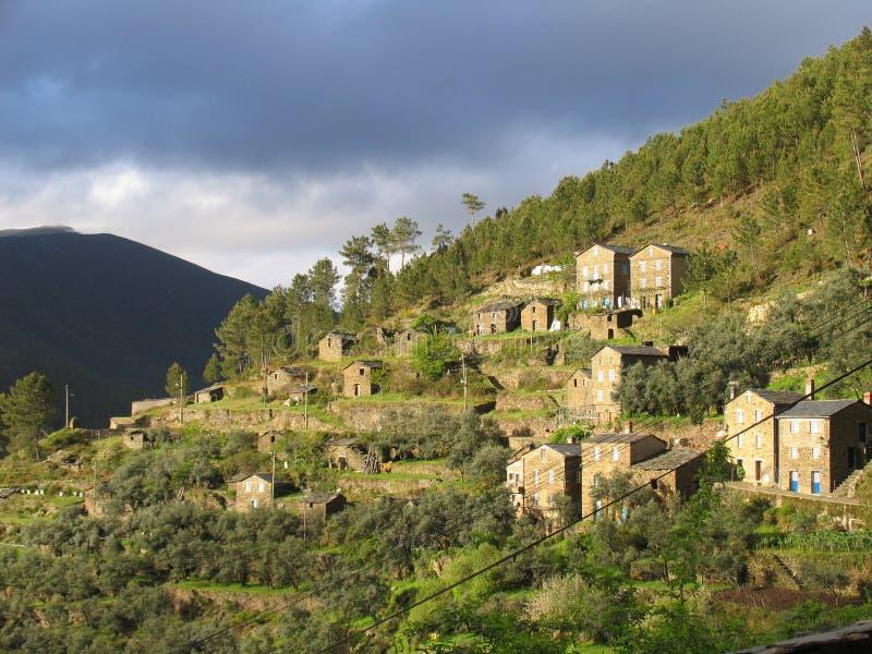 tradycyjna wioski obraz stock