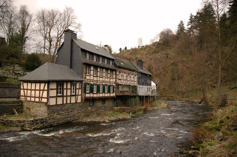 tradycyjne monschau budynku. fotografia stock