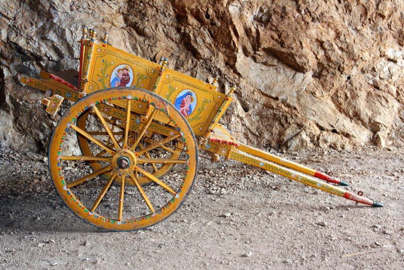 tradycyjne wózki sicilian obraz stock