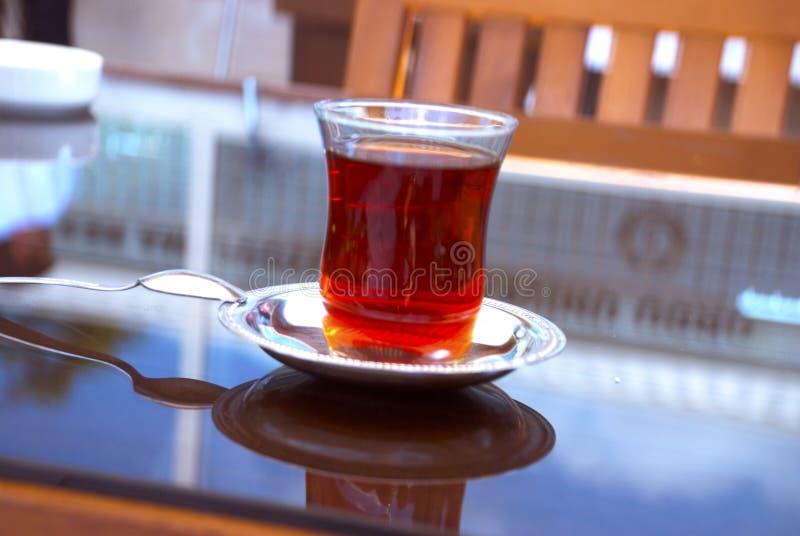 Tradycyjnego stylu turecka herbata zdjęcie stock