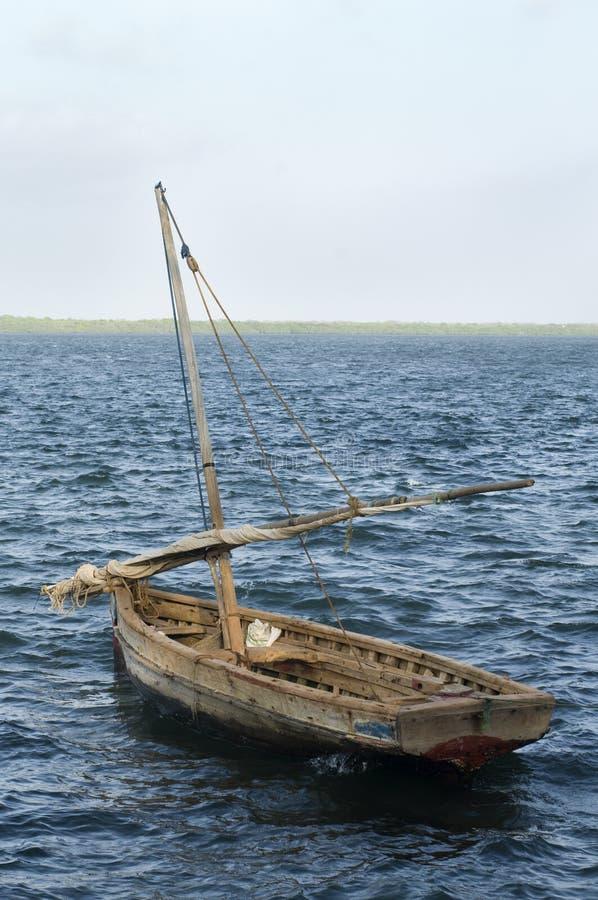 Tradycyjni łódź żagle zdjęcie royalty free