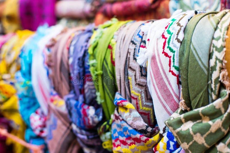 Download Tradycyjni Arabscy scarves obraz stock. Obraz złożonej z moneta - 53789945