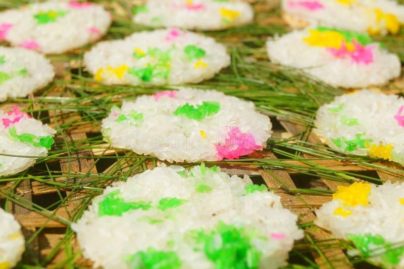 Tradycyjni Chińskie wyśmienicie przekąsek Hunan glutinous ryżowy tort zdjęcia royalty free