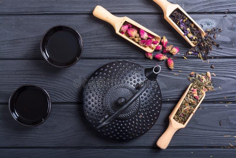 Tradycyjni chińskie ziołowa herbata zdjęcia royalty free