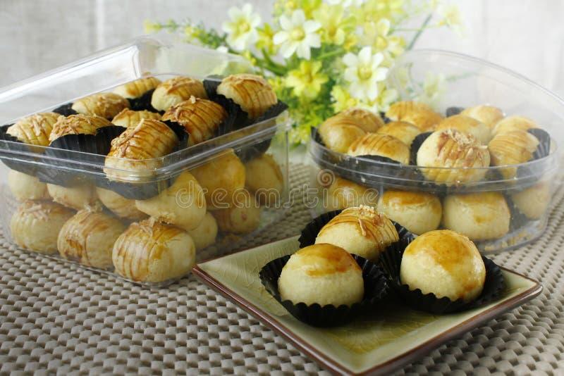 Tradycyjni ciastka dla Idul Fitri obrazy stock