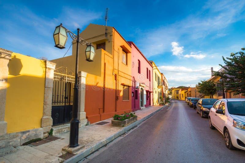 Tradycyjni domy i starzy budynki przy wioską Archanes, Heraklion, Crete fotografia royalty free