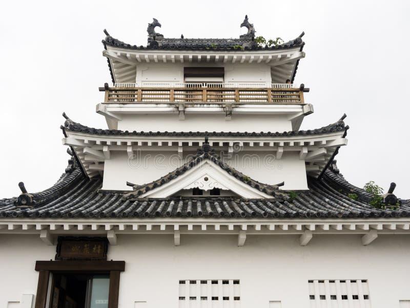 Tradycyjni Japońscy samurajowie roszują w Kitsuki, Oita prefektura obrazy stock