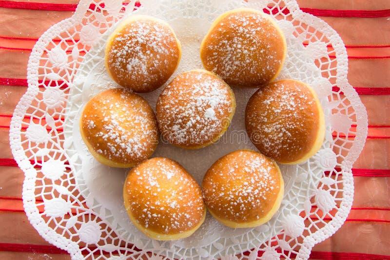 Tradycyjni Karyntyjscy Karnawałowi Donuts zdjęcie royalty free