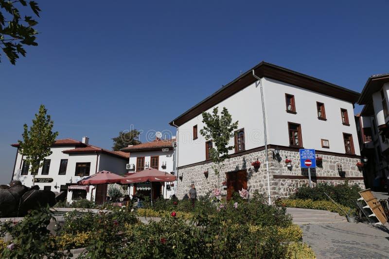 Tradycyjni turecczyzna domy w Ankara mieście fotografia royalty free