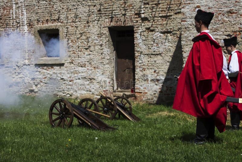 Tradycyjni wojskowi uniformy zdjęcie stock