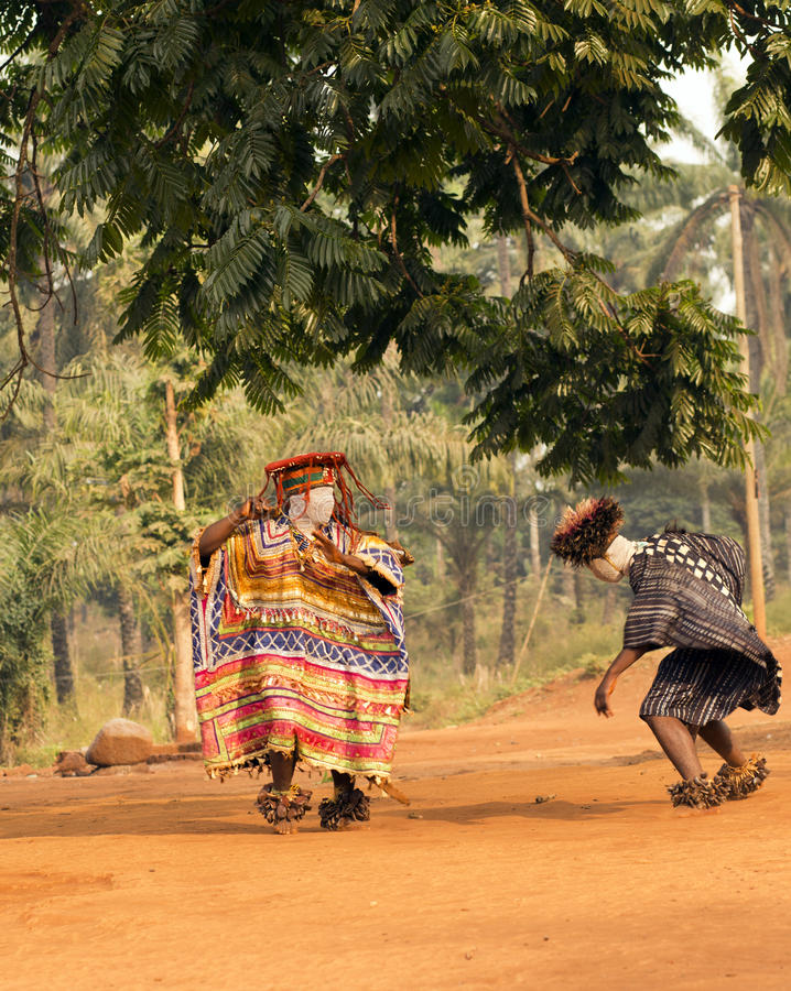 Tradycyjny Afrykański taniec obraz stock
