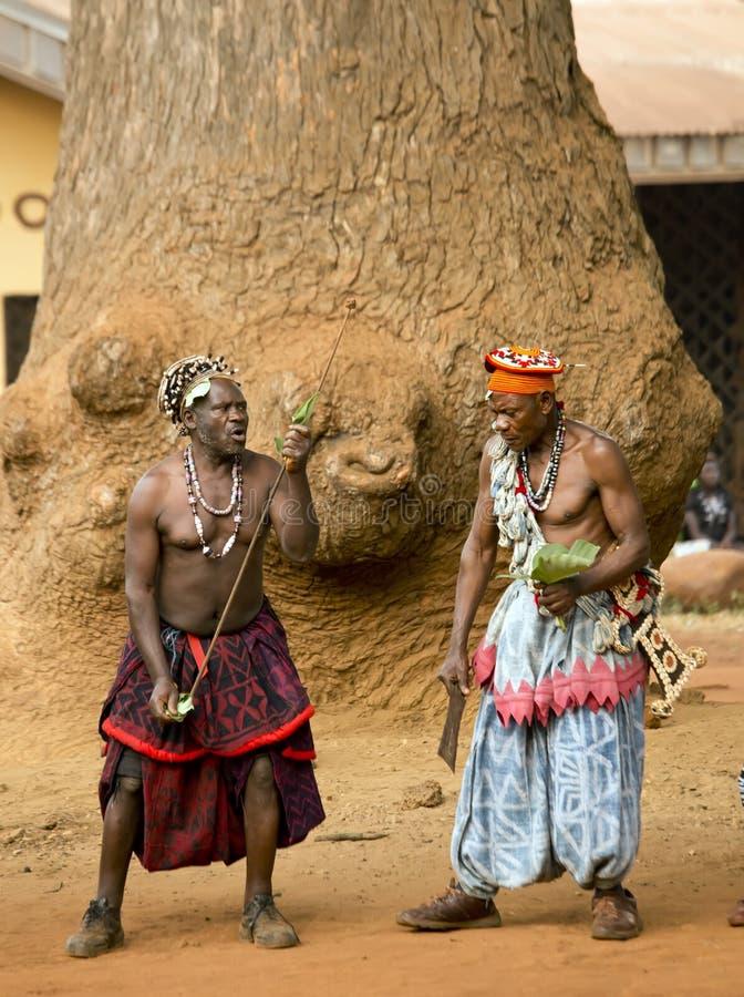 Tradycyjny Afrykański taniec fotografia royalty free