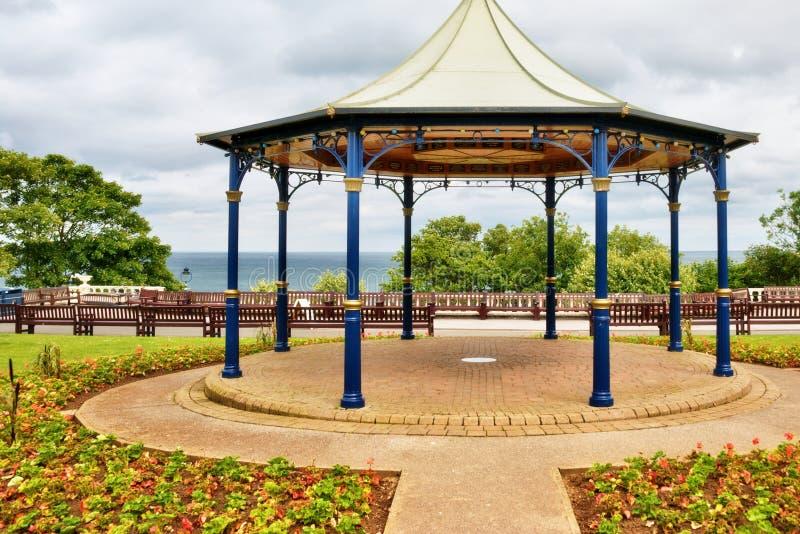 Tradycyjny Angielski bandstand zdjęcia royalty free