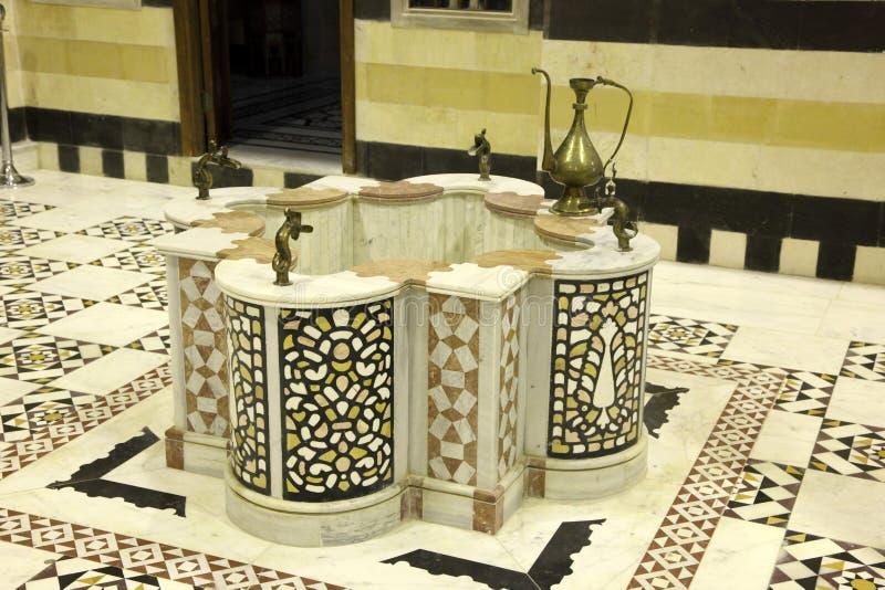 Tradycyjny arabski well obraz stock