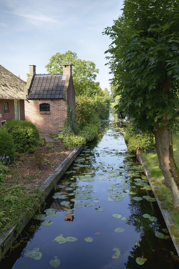 Tradycyjny bakehouse w Giethoorn zdjęcia royalty free
