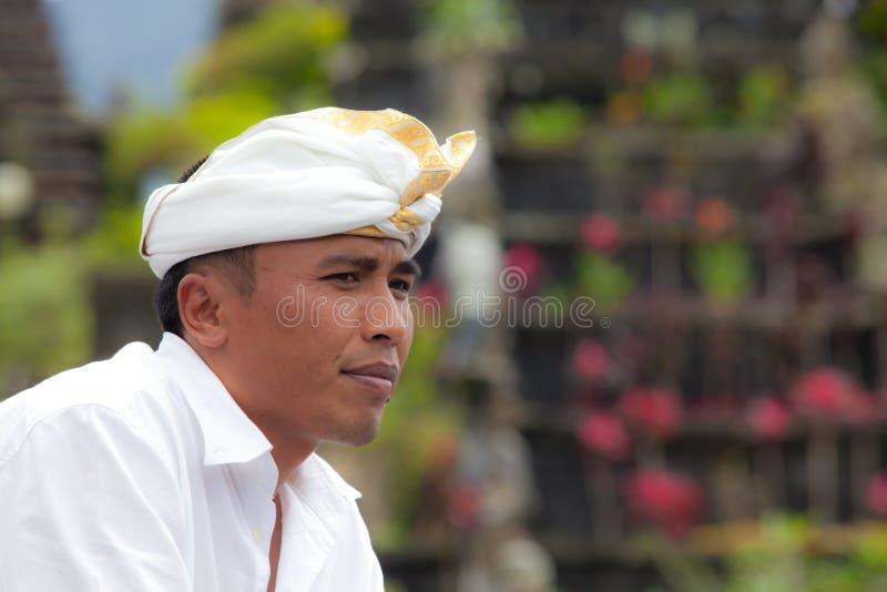 tradycyjny Balijczyka pielgrzym obraz royalty free