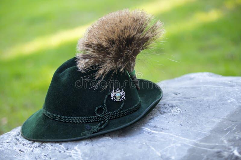 Tradycyjny bavarian kapelusz obraz royalty free