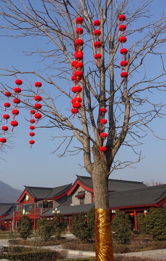 Tradycyjny budynek przy Shaolin świątynią obraz stock